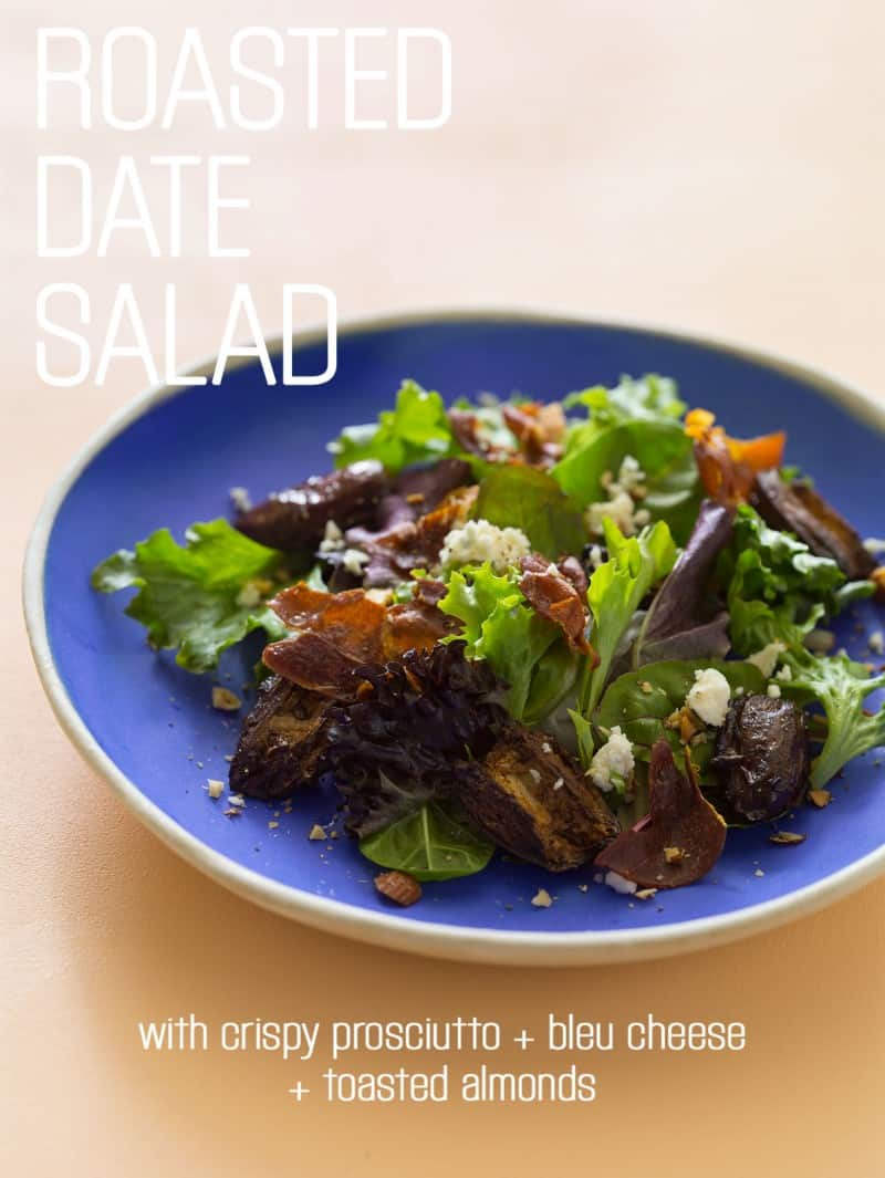 A recipe for Roasted Date Salad.