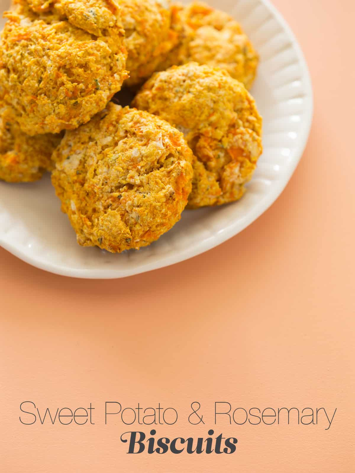 Sweet Potato & Rosemary Biscuits | Spoon Fork Bacon