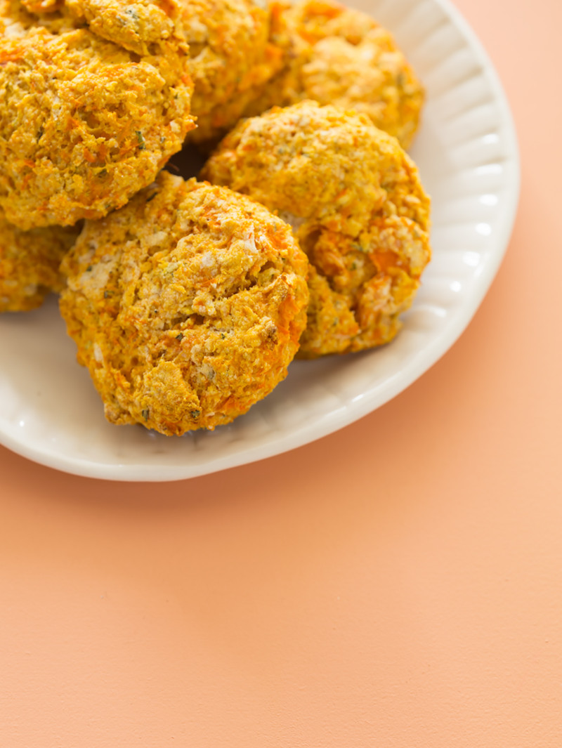 A recipe for Sweet Potato and Rosemary Biscuits