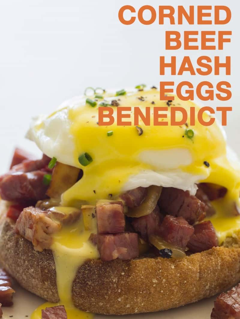 Corned Beef hash Eggs Benedict recipe.