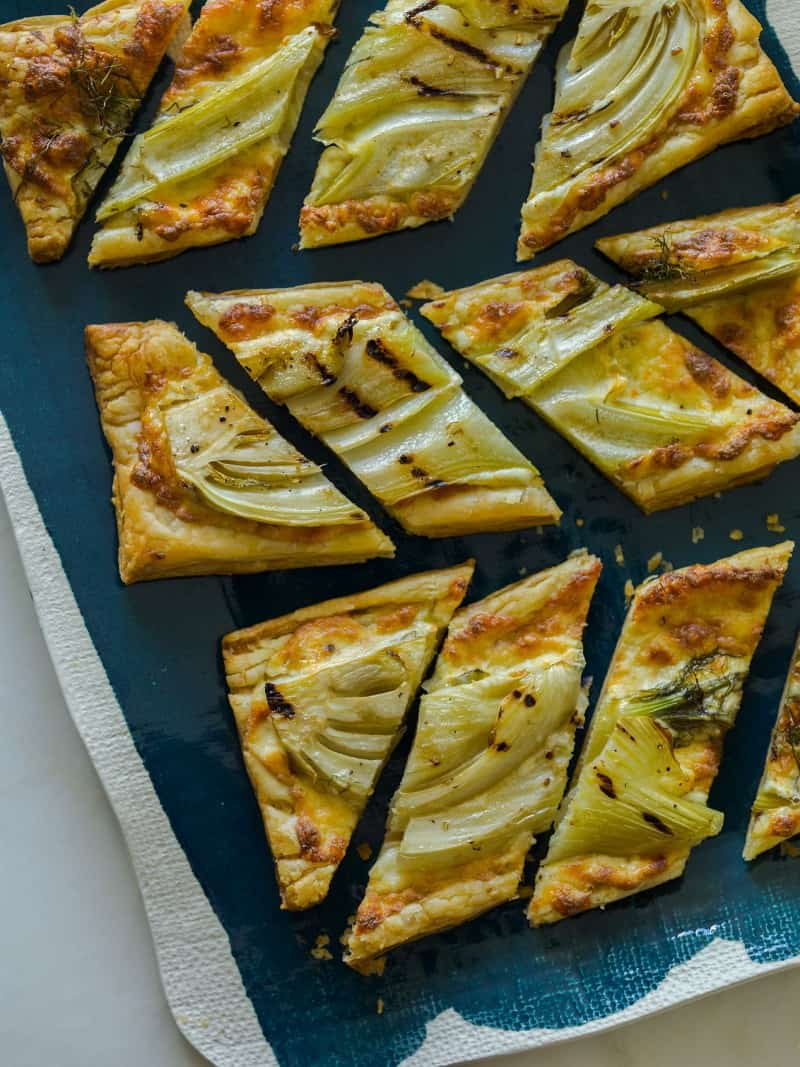 Grilled Fennel Tart recipe.