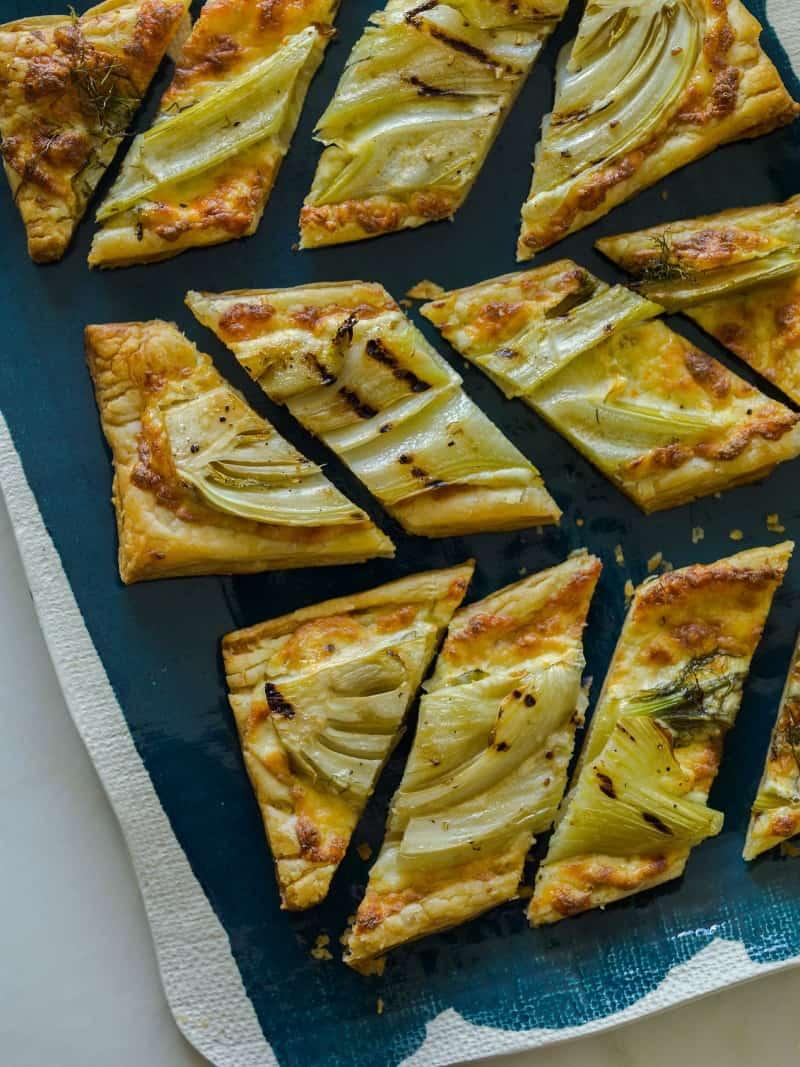 Grilled Fennel Tart recipe.