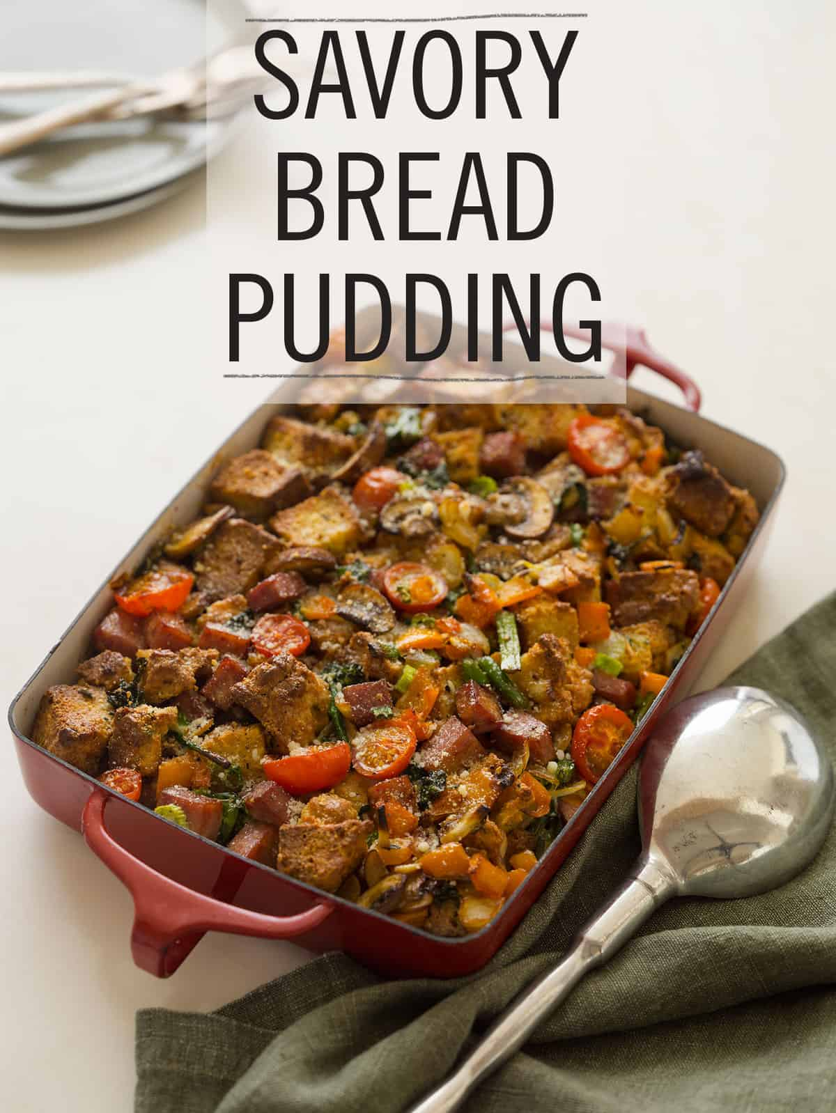 savory bread pudding savory breakfast bread pudding and bread pudding ...