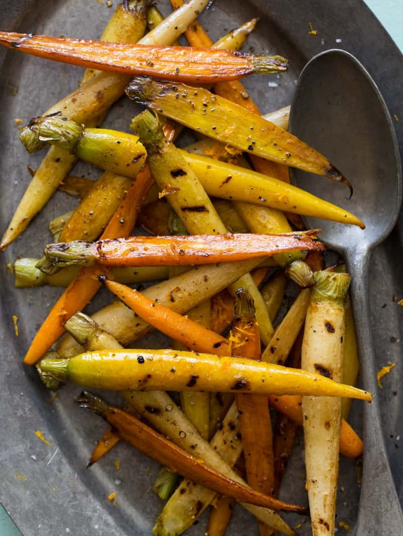 A recipe for Balsamic Grilled Baby Carrots. Makes a great easy side dish.