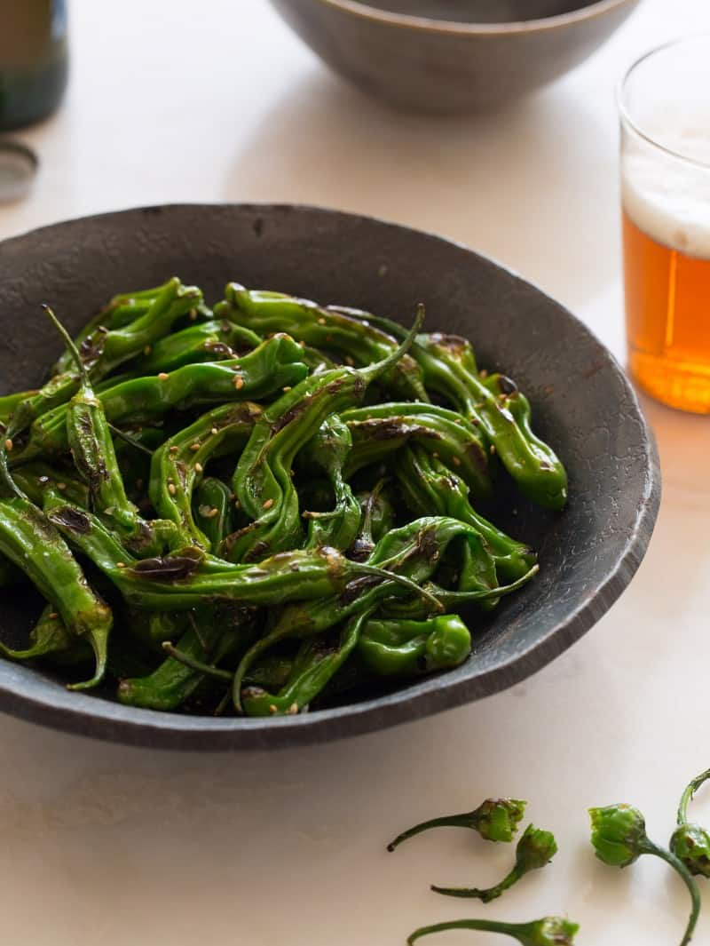 Blistered Shishito Peppers recipe.