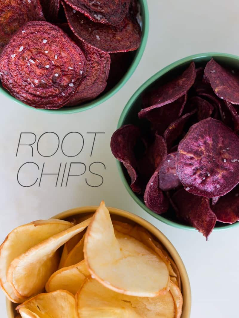 A recipe for Root Chips.