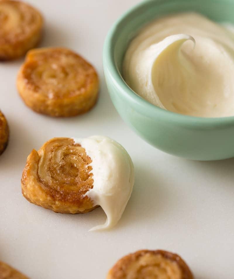 Cinnamon Sugar Pastry Wheels