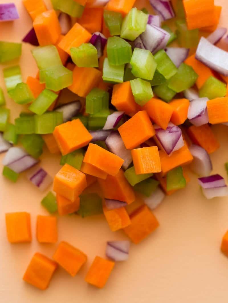 Ingredients for a Hawaiian Style Macaroni Salad