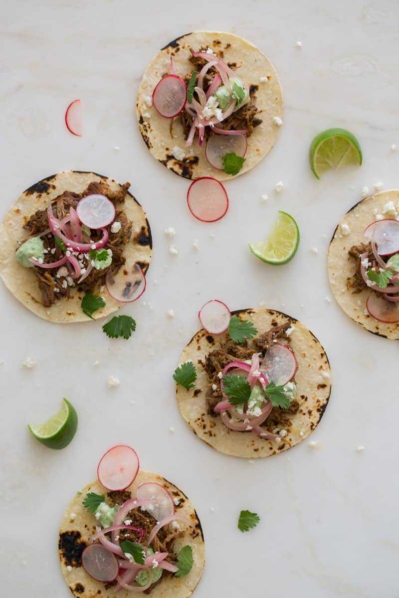 Cochinita Pibil taco recipe