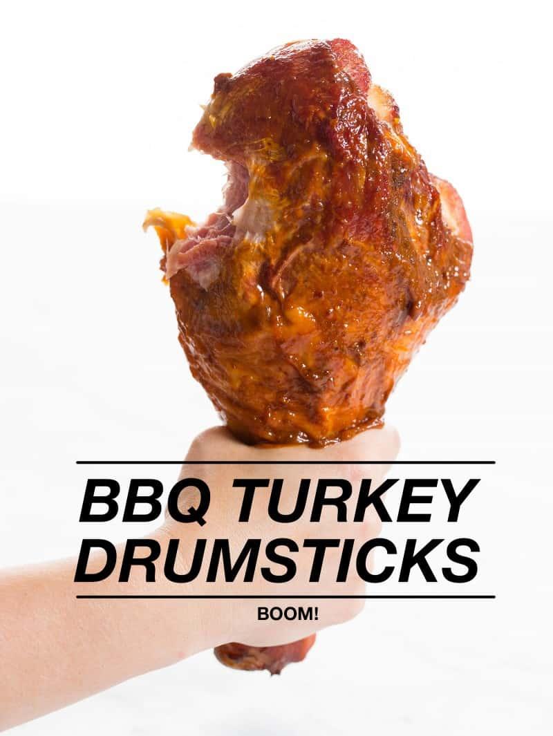 BBQ Turkey Drumsticks