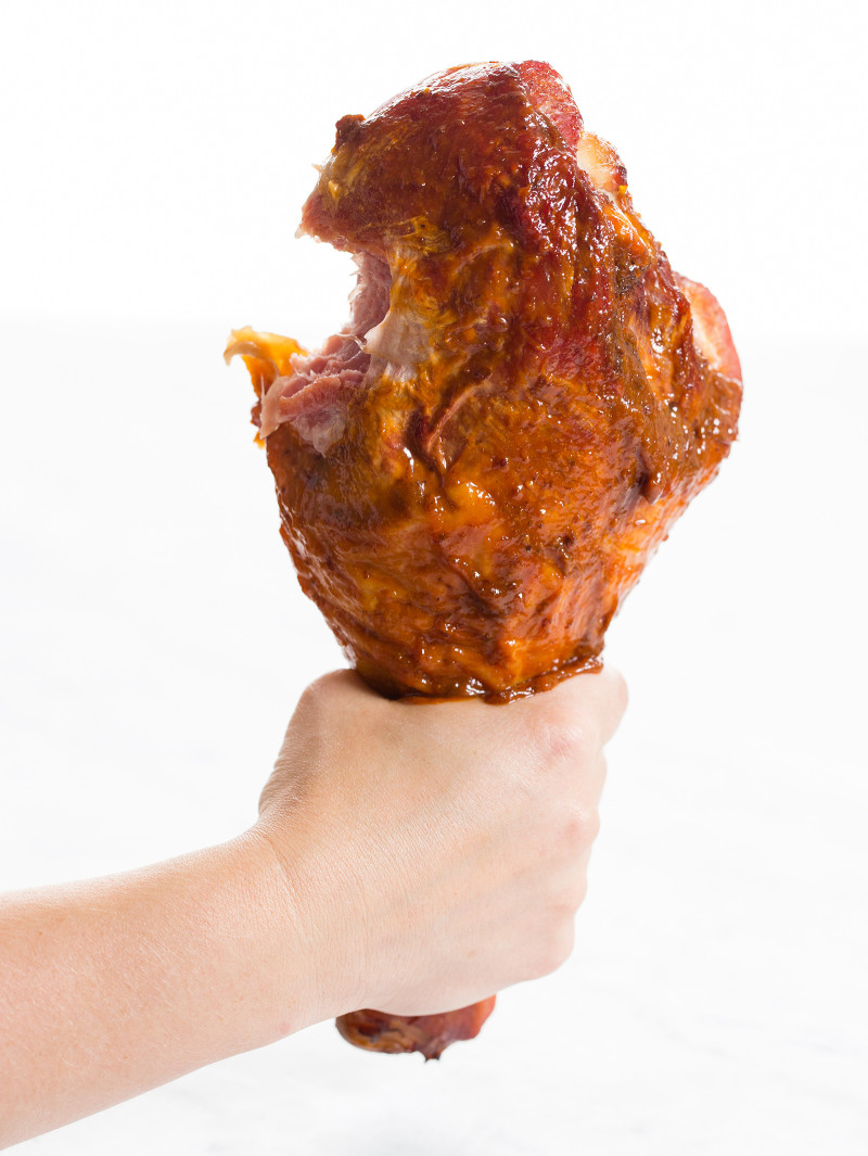 BBQ Turkey Drumsticks