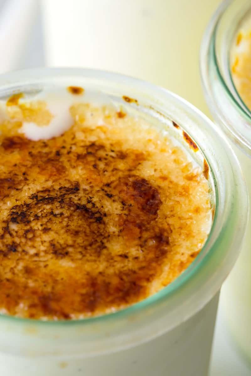 Crème Brûlée Frozen Custard recipe