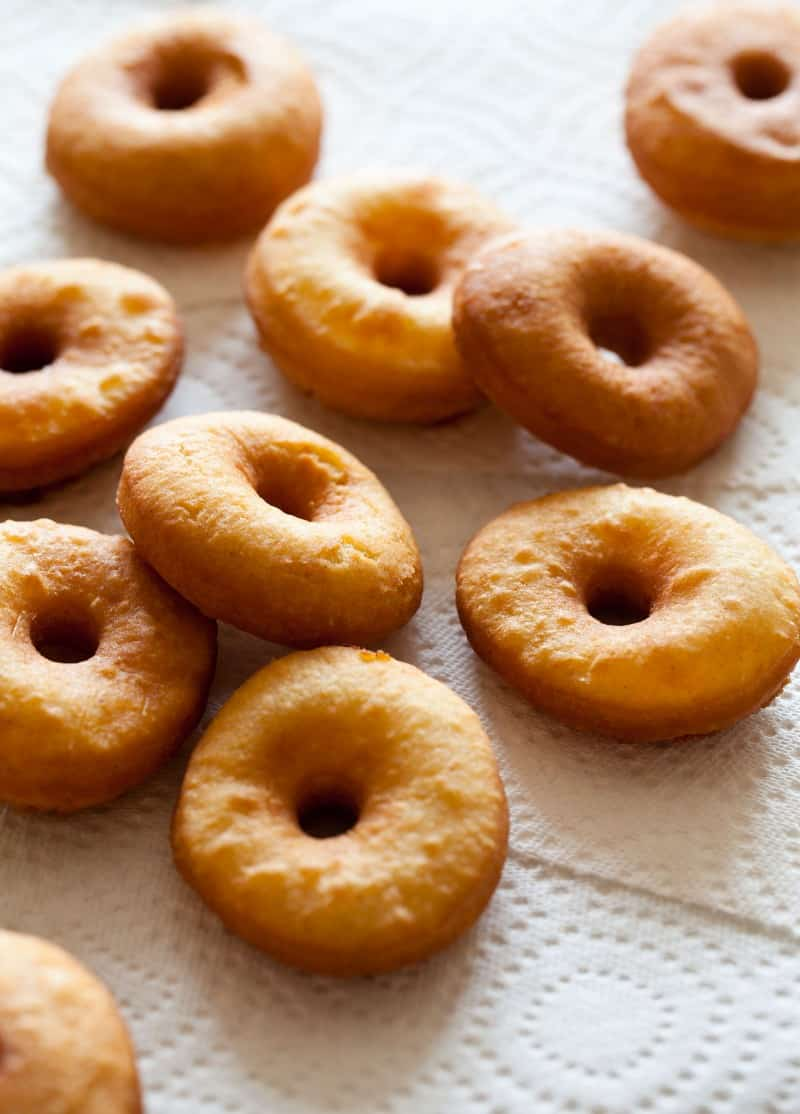 No Yeast Cake Doughnuts recipe