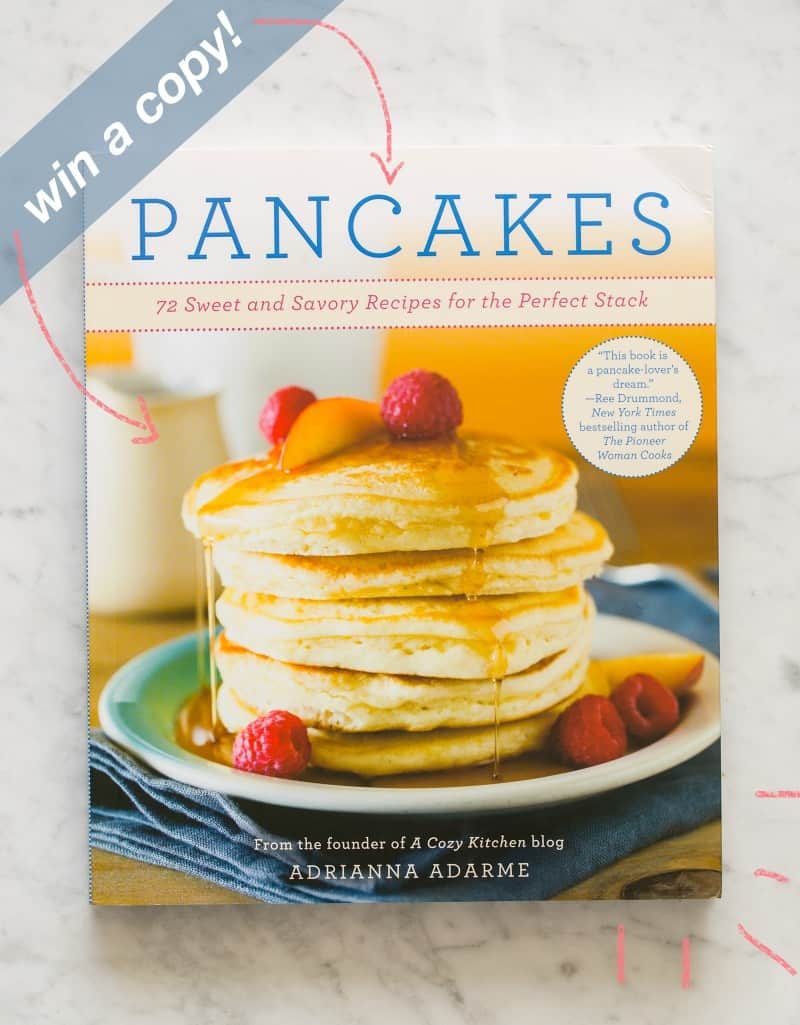 """The cover of \""""Pancakes\"""" by Adrianna Adarme."""