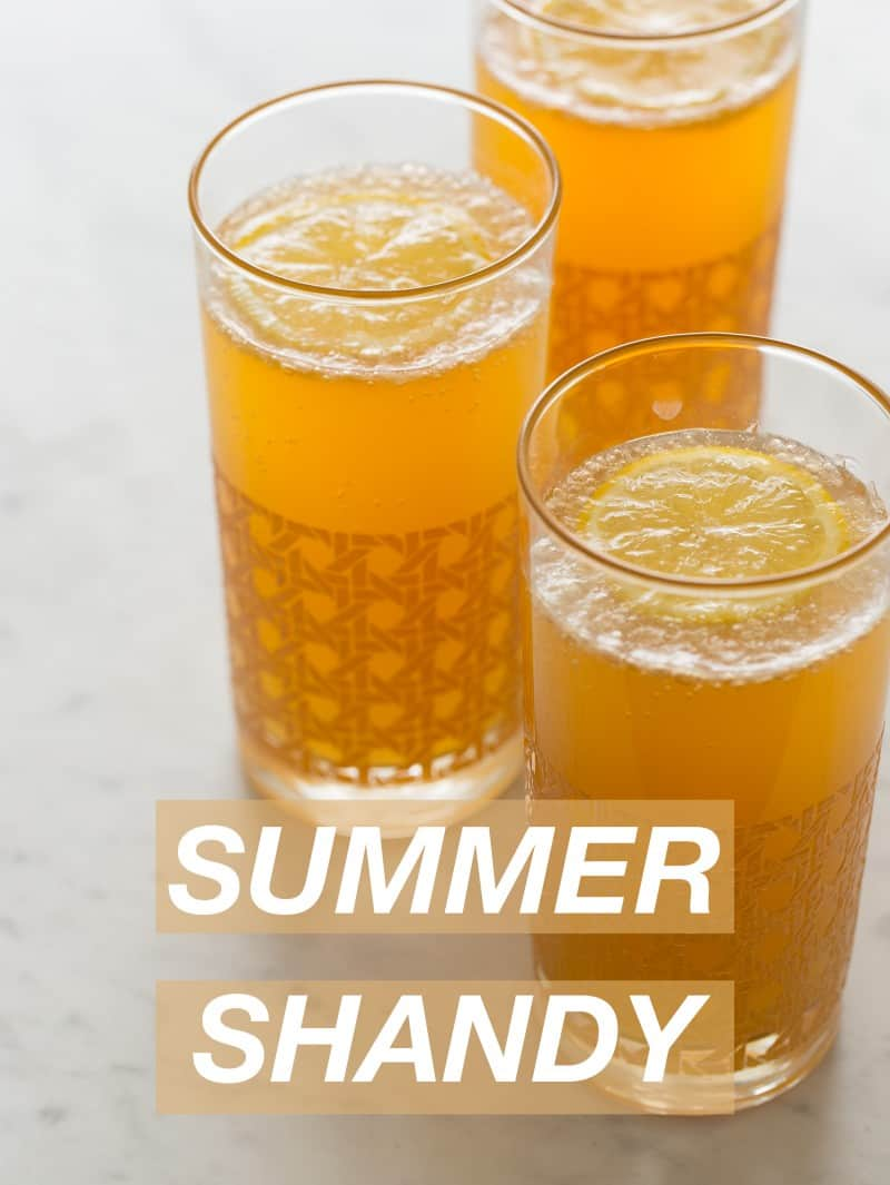 Summer Shandy Cocktail Recipe Spoon Fork Bacon