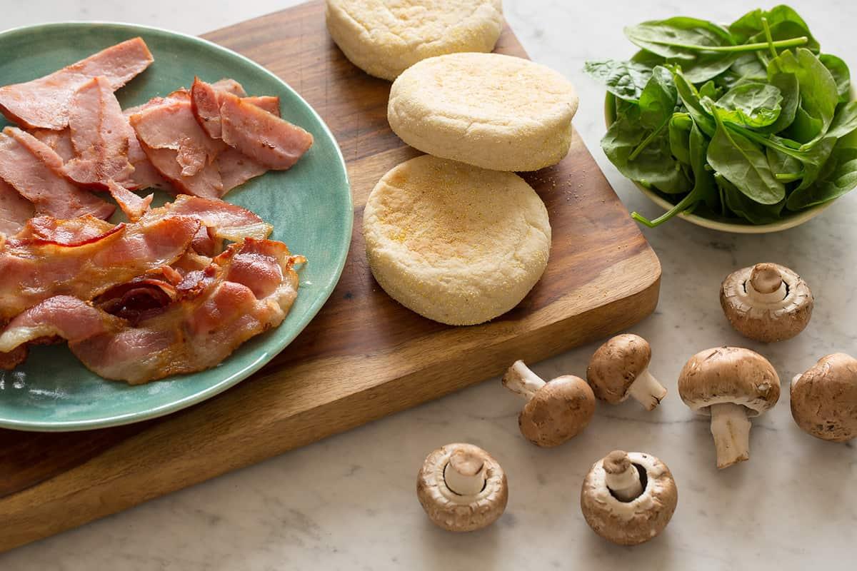 Toasted Breakfast Sandwich | Spoon Fork Bacon