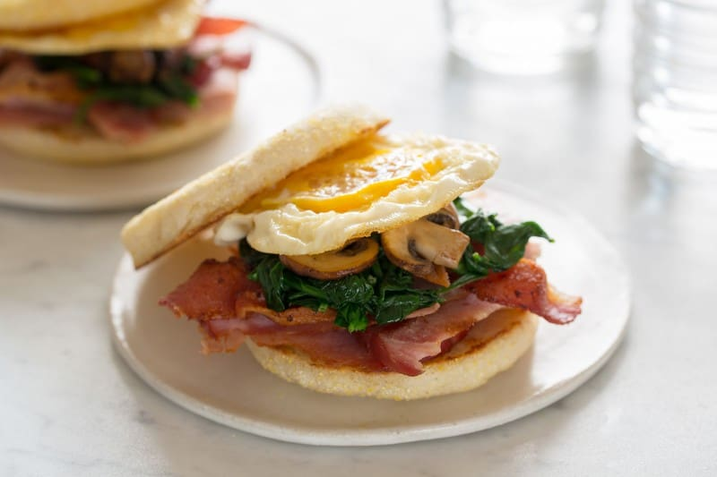Toasted Breakfast Sandwich recipe