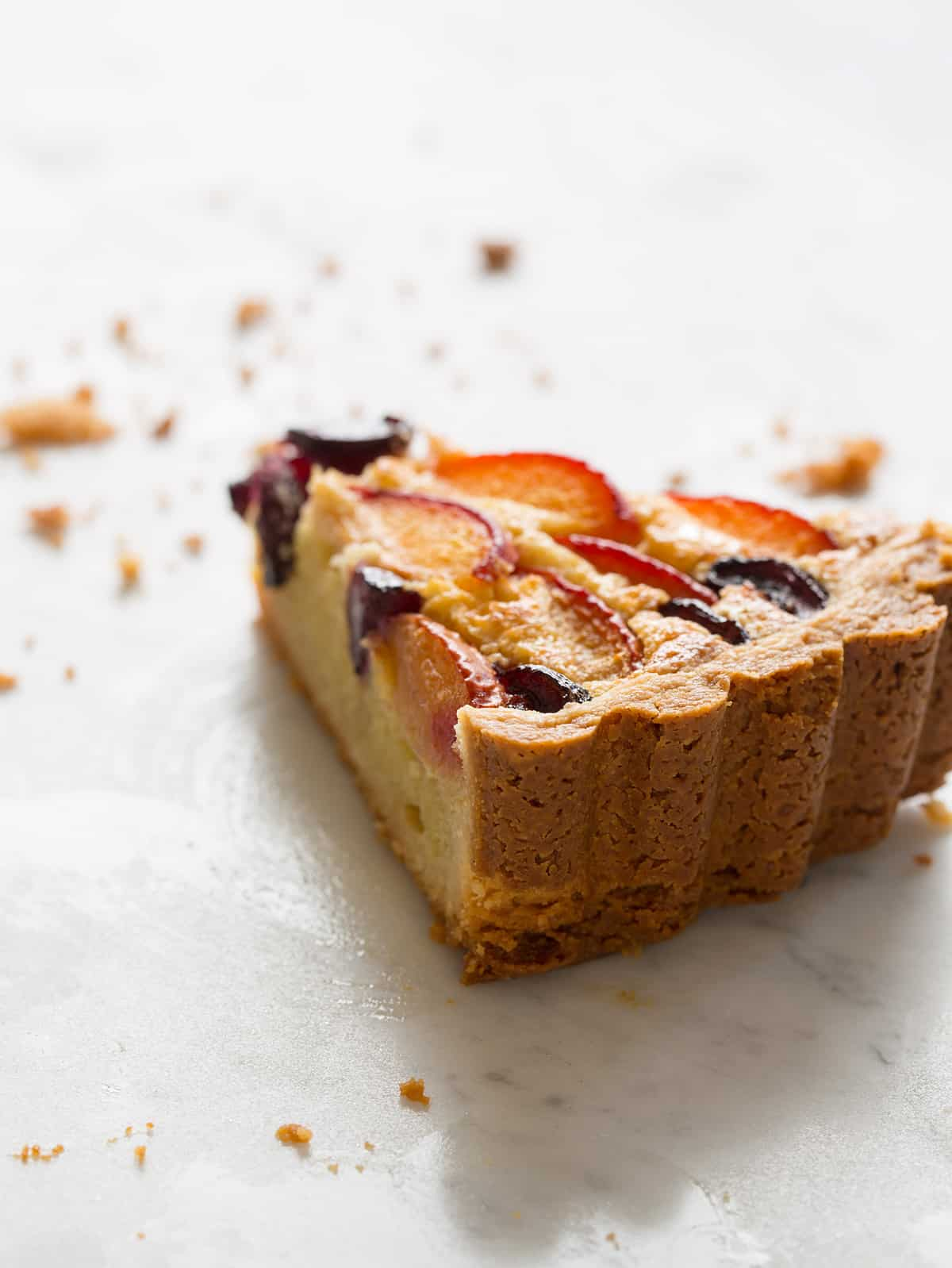 Red Apricot and Sweet Cherry Tart with a Cashew Frangipane ...