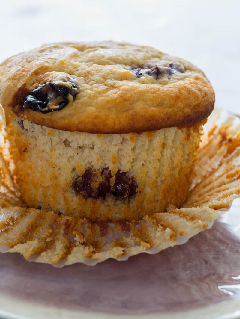 Giant Roasted Grape Muffins recipe