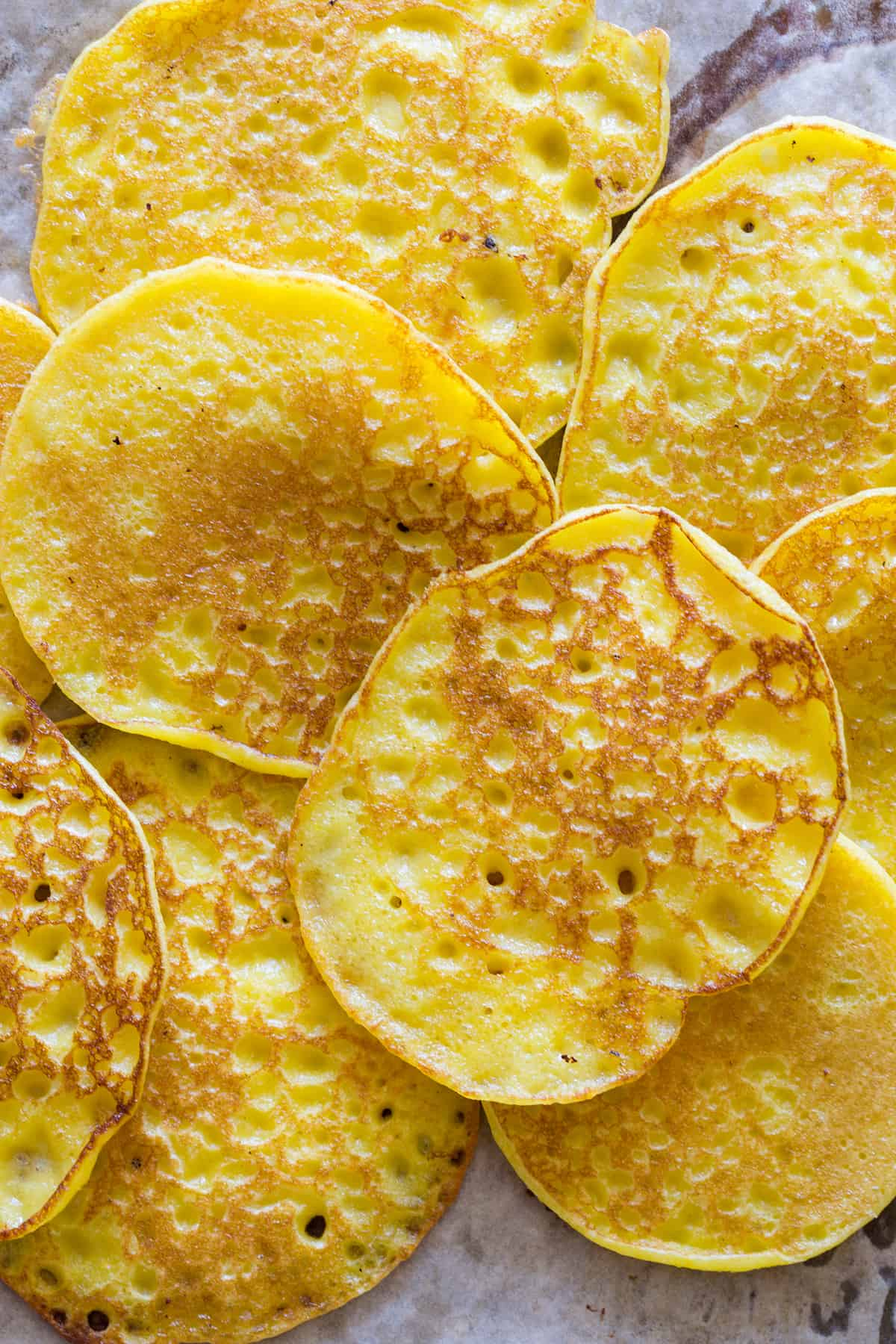 Savory Buttermilk Pancakes With Corn Recipe — Dishmaps