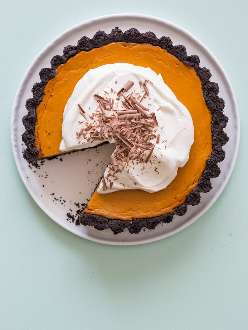 ... that we don t have a pumpkin pie recipe on the blog pumpkin pie is my