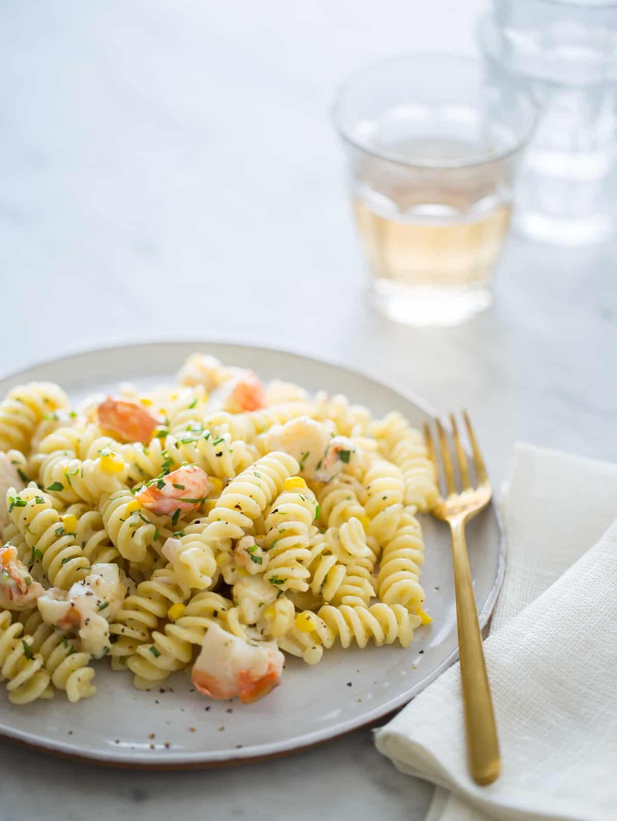 lobster pasta sauce recipe