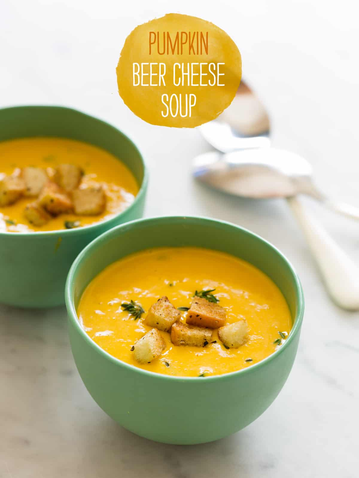 Pumpkin Beer Cheese Soup recipe | Spoon Fork Bacon