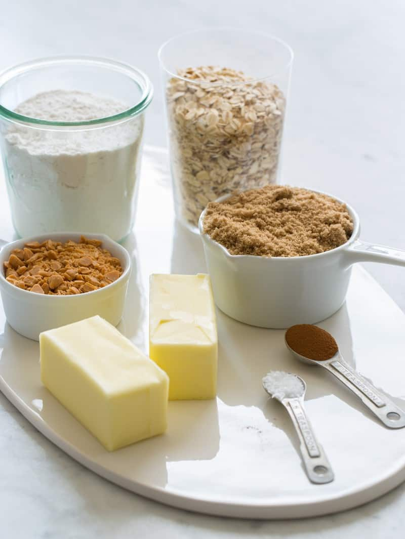 Salted Dulce De Leche Bars ingredients