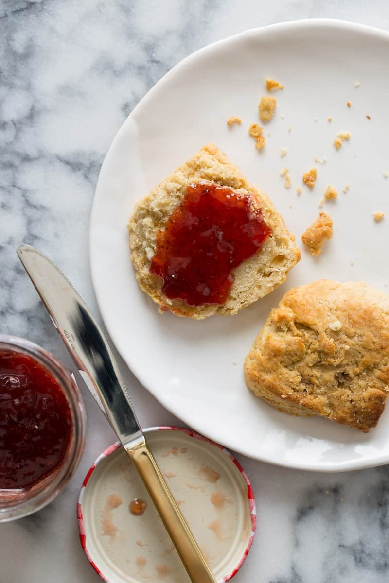 Brown butter for biscuits recipe