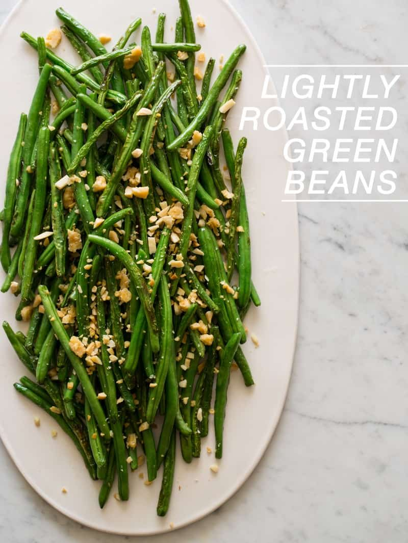 Lightly Roasted Green Beans