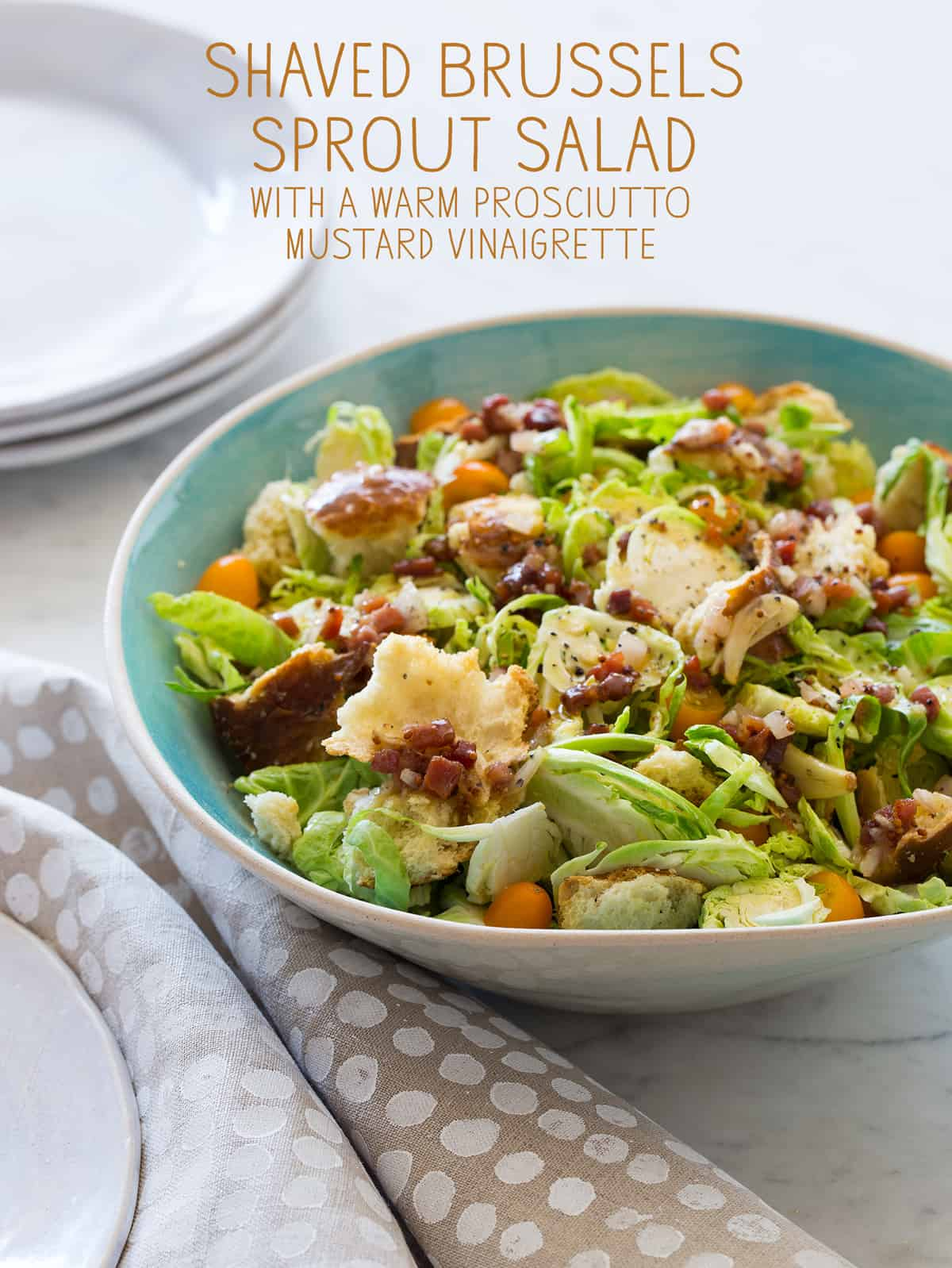 shaved brussels sprouts salad salad recipe spoon fork