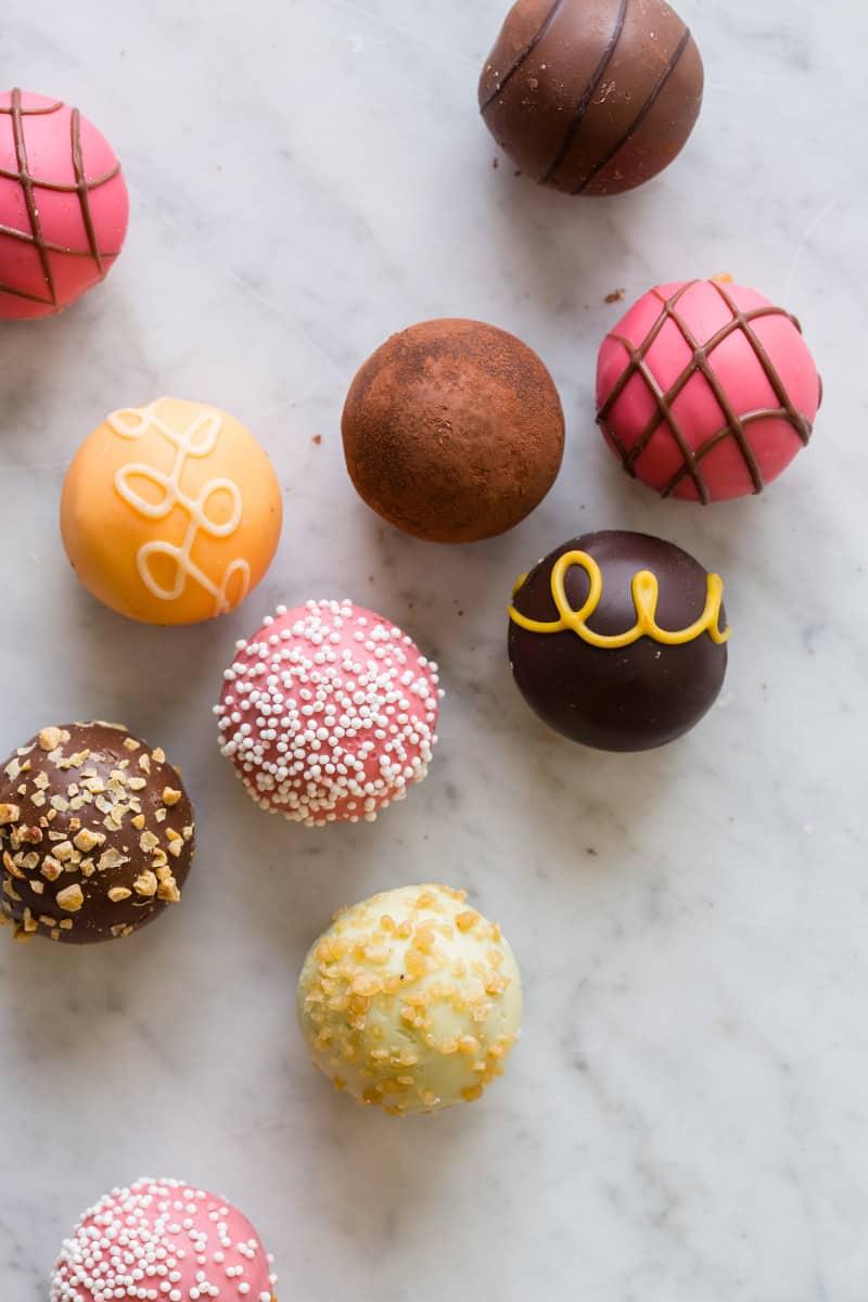 GODIVA Chocolates for Truffle Place Cards