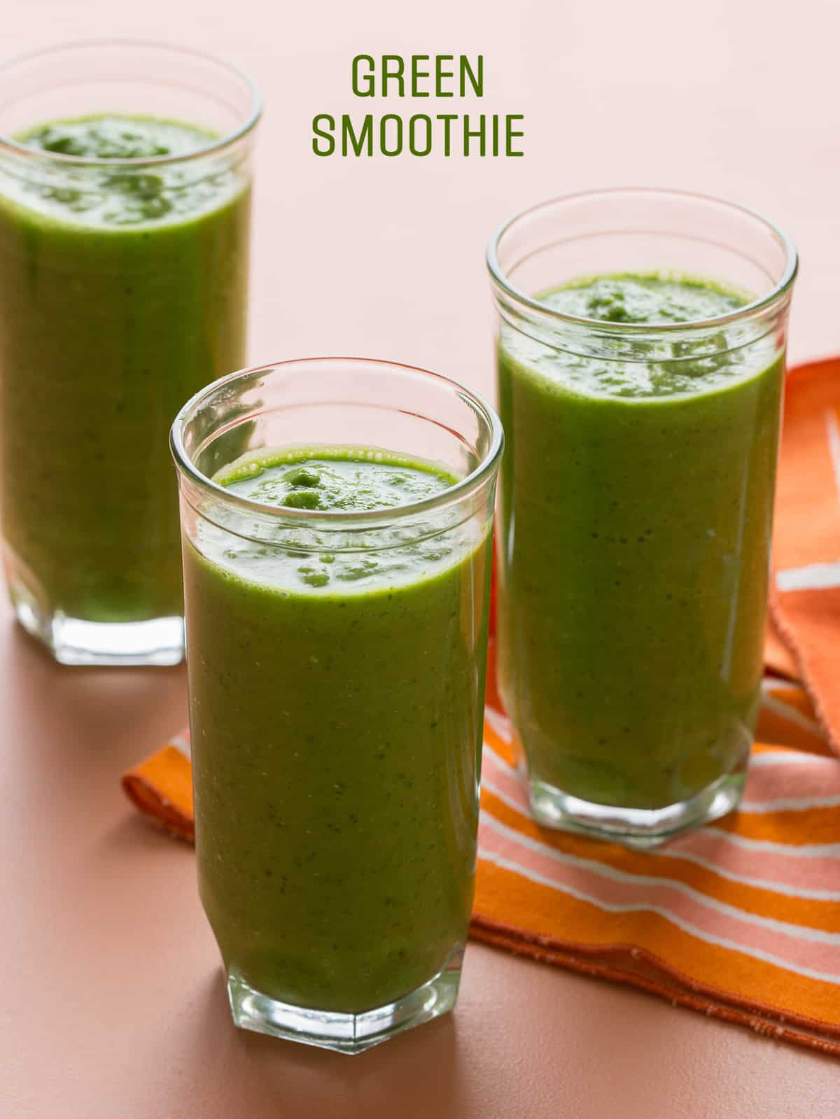 Green Smoothie | Recipe | Spoon Fork Bacon