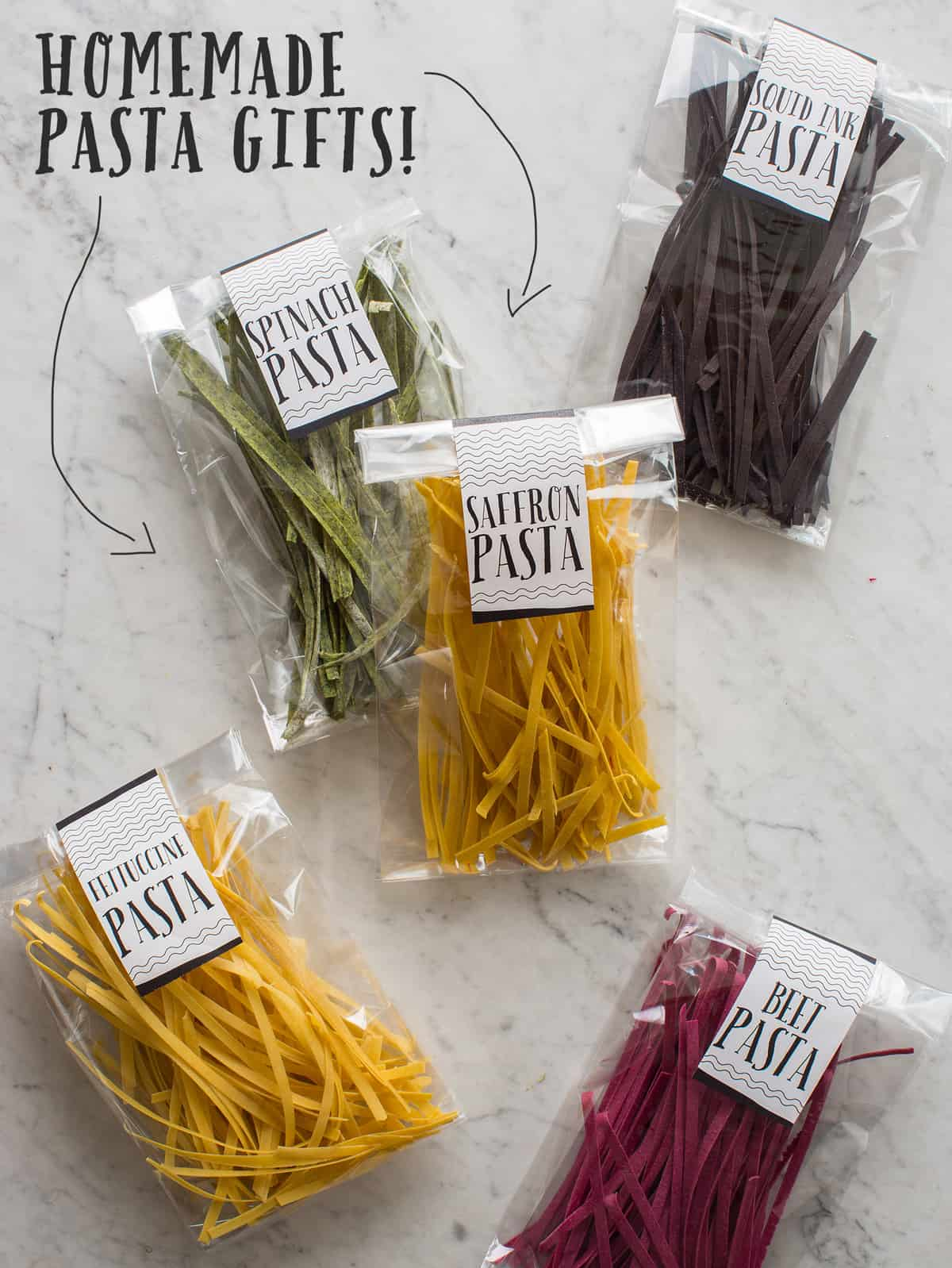 Homemade Pasta Gifts