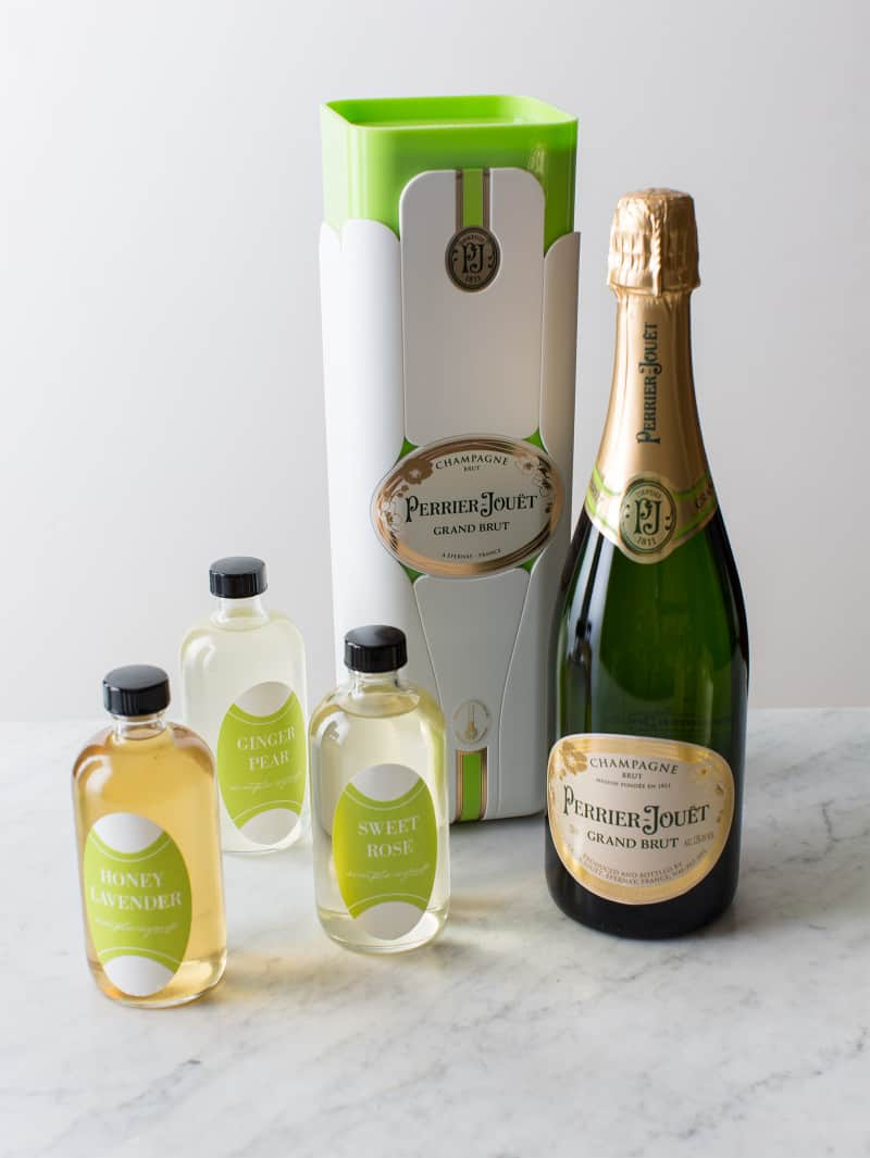 Homemade Simple Syrup Gifts