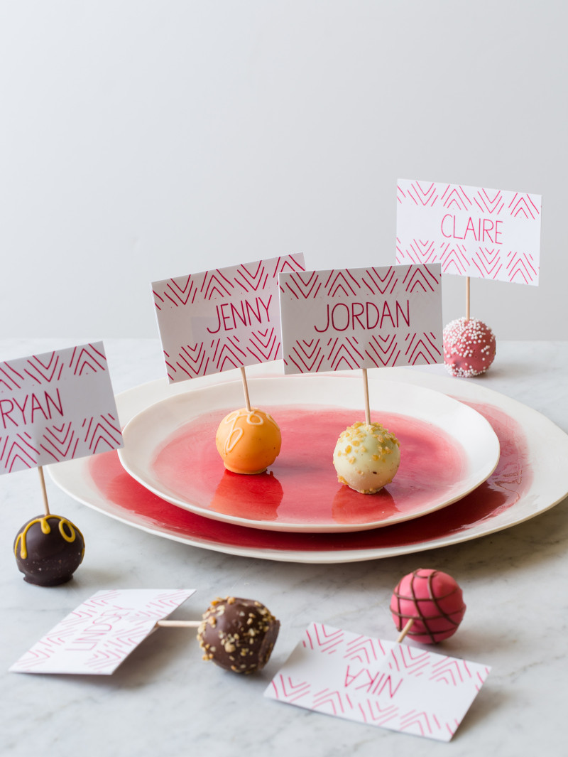 Truffle Place Cards DIY