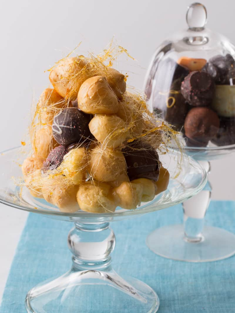 Truffled Croquembouche recipe