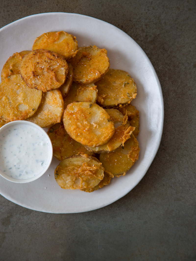 Chicken Fried Potatoes