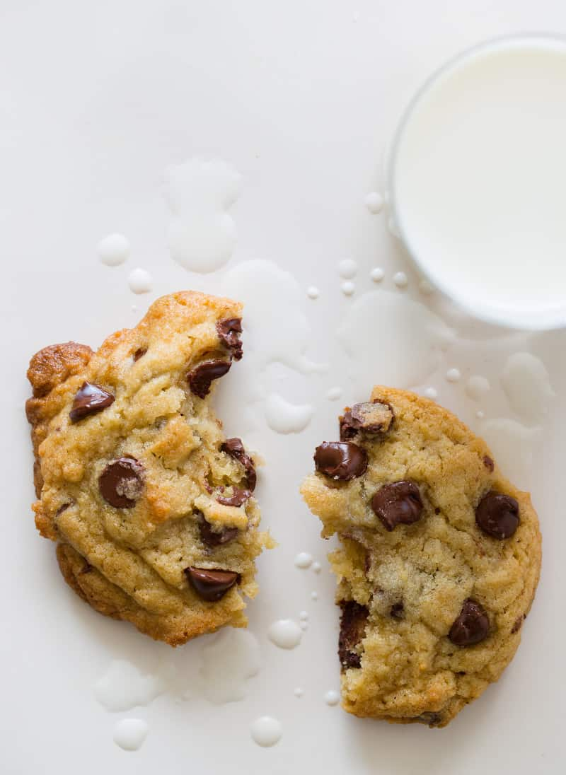 A recipe for Chocolate Chip Cookies