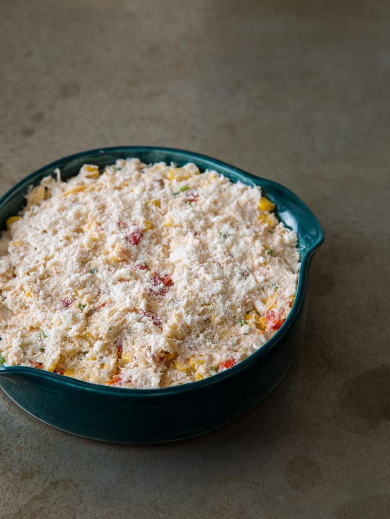 Hot Crab Dip pre bake