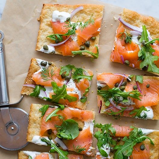 Smoked Salmon Pizza | Pizza recipe
