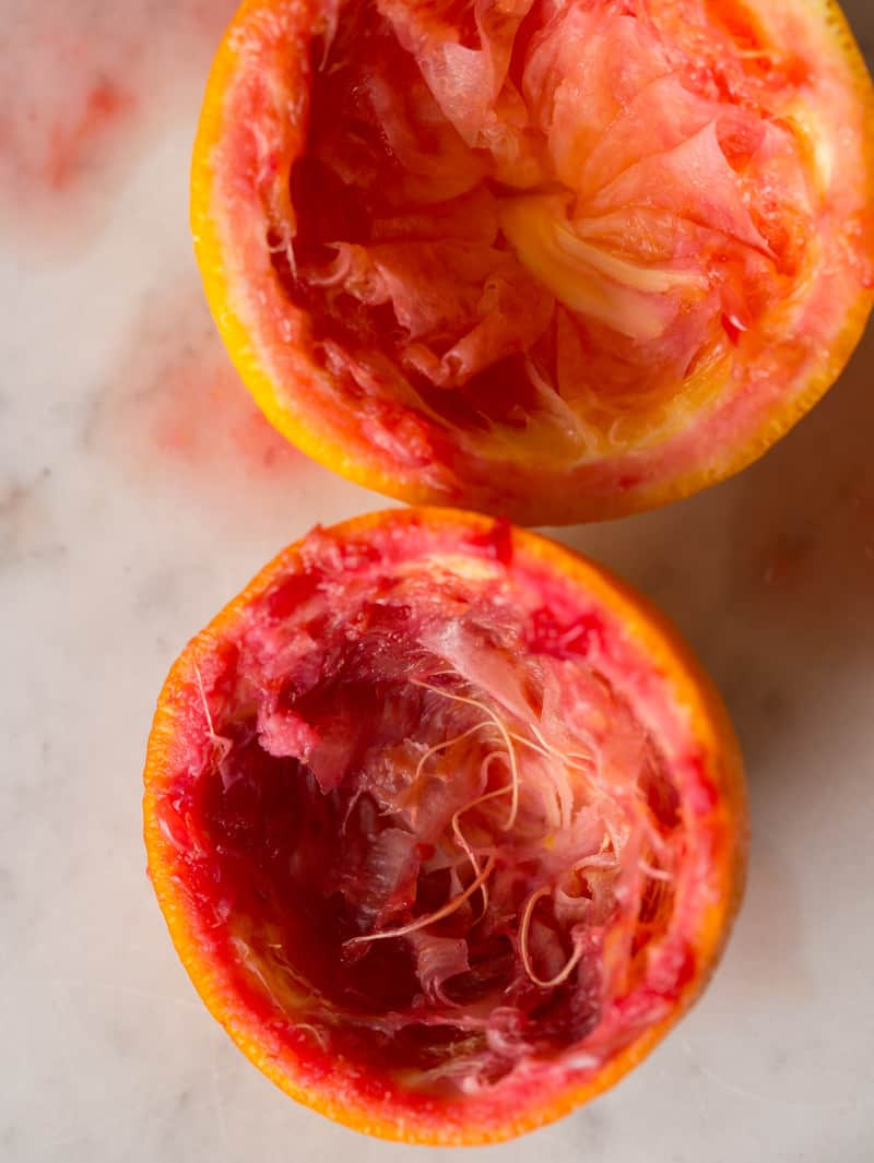 Squeezed Blood Oranges