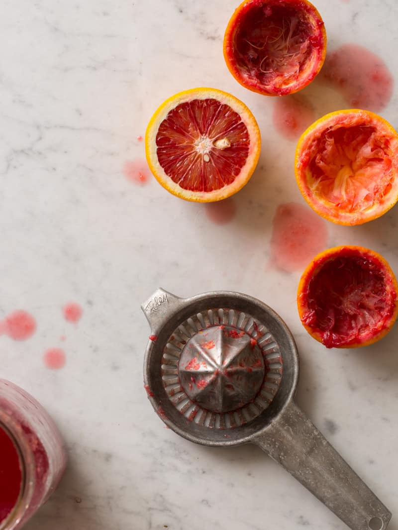Blood Oranges squeezed
