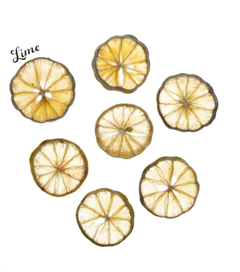 Dried Lime slices