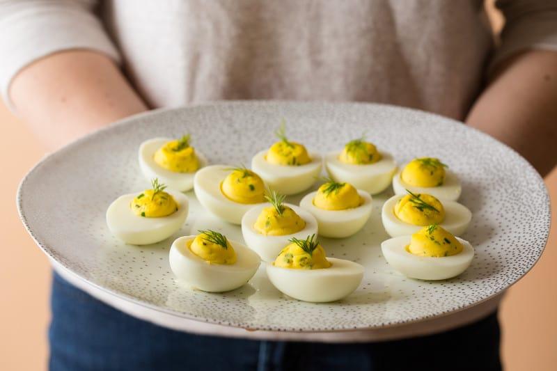 Herbed Deviled Egg recipe