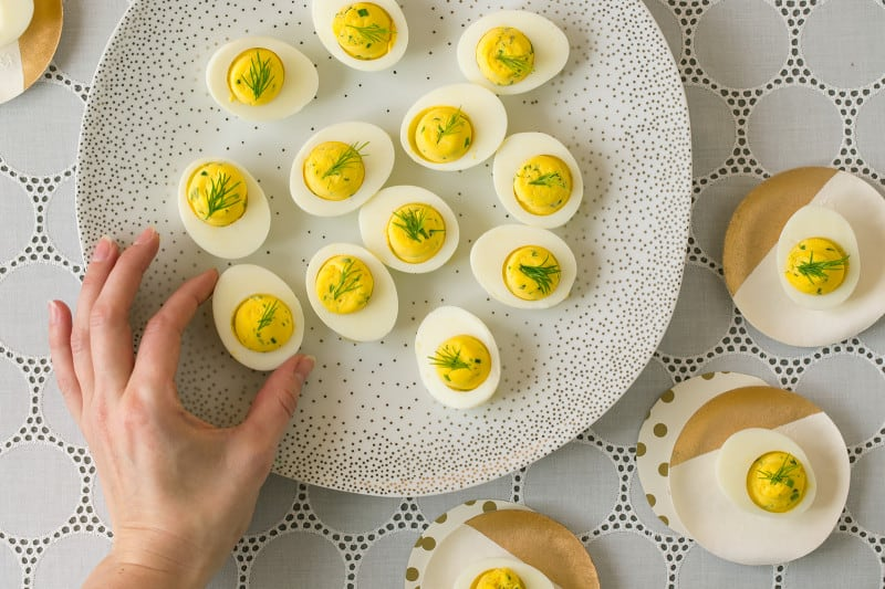 Herbed Deviled Egg recipe
