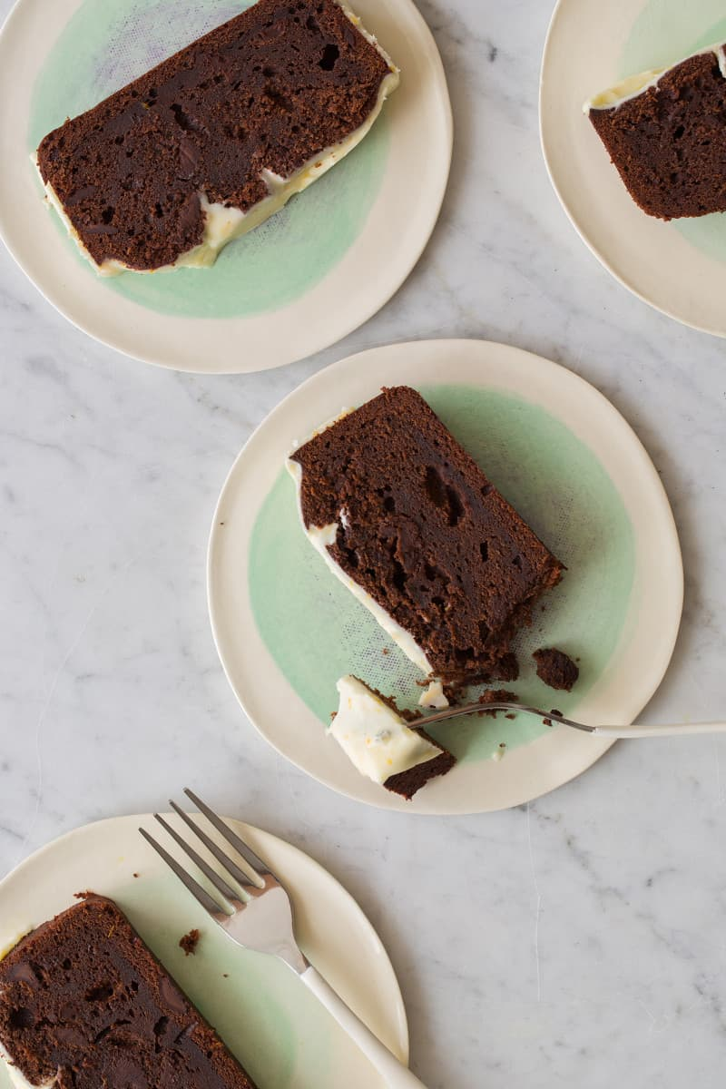 Double Chocolate Pound Cake | Spoon Fork Bacon