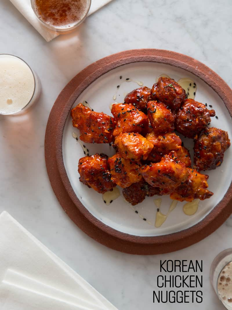 Korean Chicken Nuggets