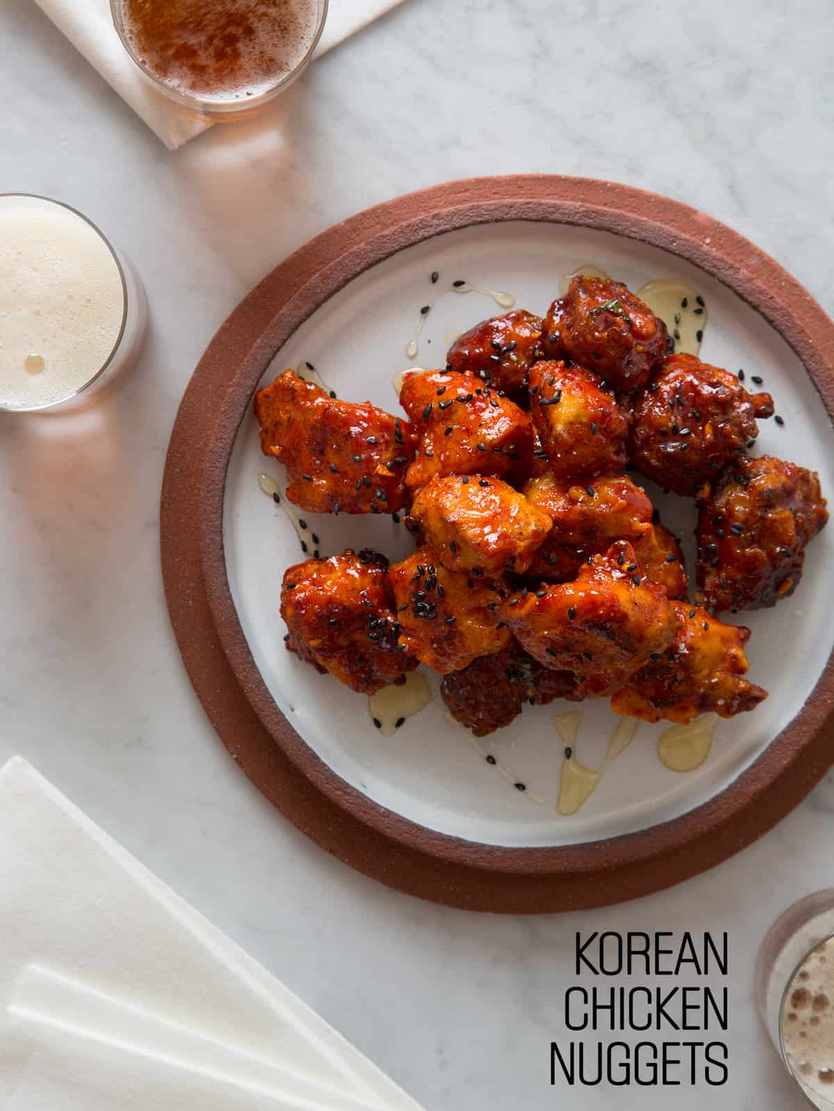 Korean chicken nuggets spoon fork bacon forumfinder Image collections