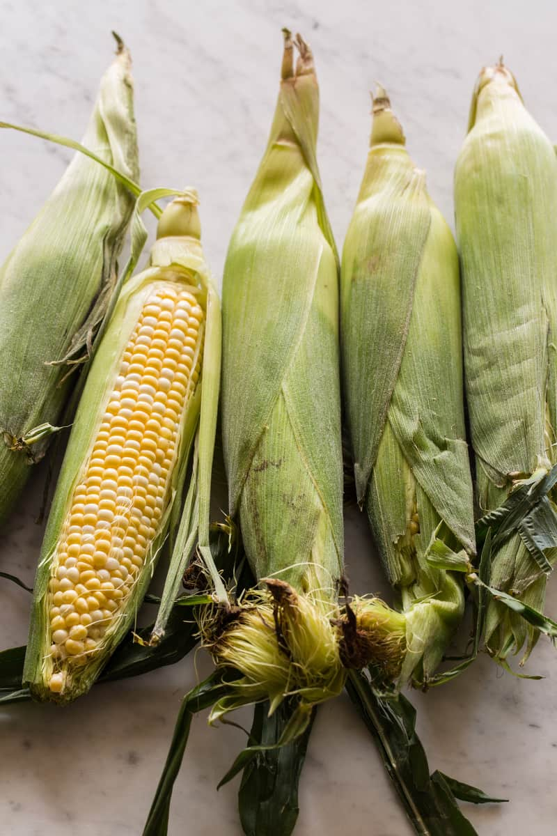 Corn for Sweet Corn Gazpacho